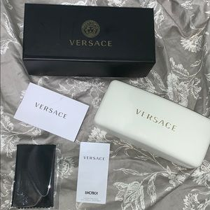 versace glasses case